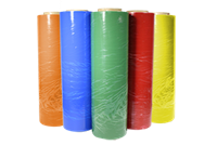 Cast Tinted Colored Stretch Films